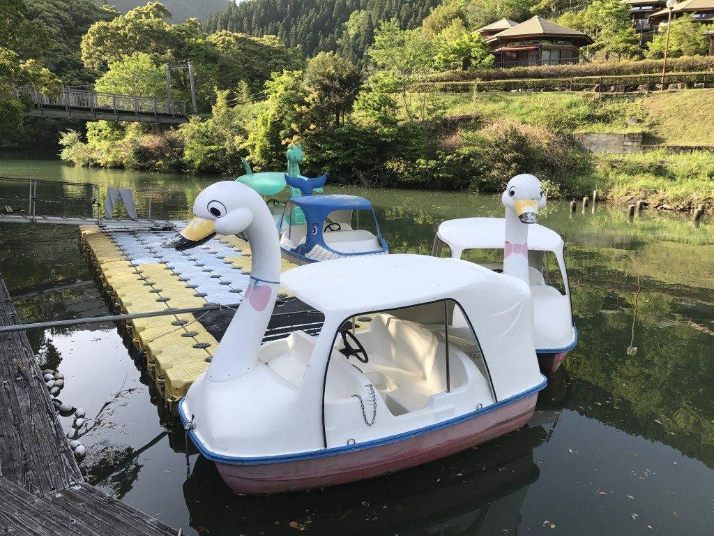 アヒルボート乗りたい方はぜひ